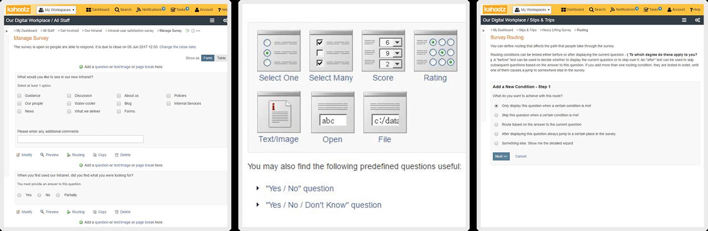 Kahootz survey