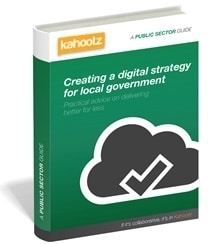 Creating a digital strategy for local government guide cover