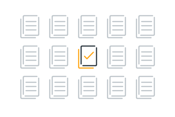 Edit documents directly icon graphic