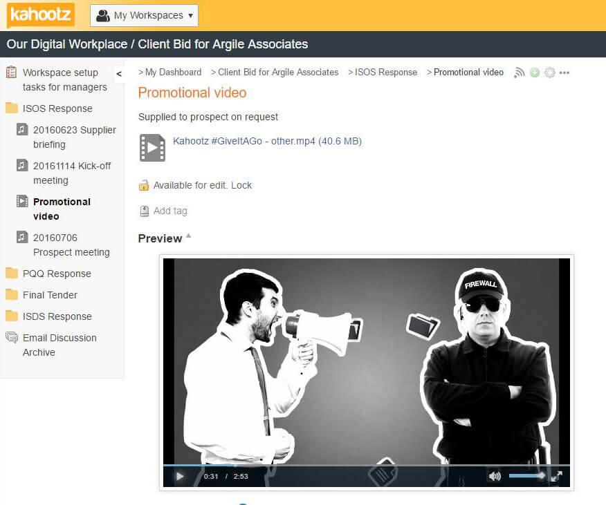 Multimedia screenshot