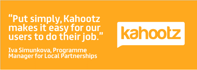 Put simply, Kahootz makes it easy for our users to do their job